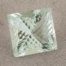Бледно-зеленый берилл квадрат вес 8.35 карат, размер 13х12.5мм (beryl0131)