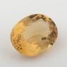 Золотистый берилл гелиодор формы овал, вес 3.89 карат, размер 12х9.2мм (beryl0145)