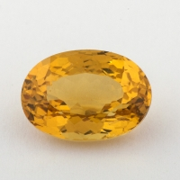 Золотистый берилл гелиодор формы овал, вес 3.26 карат, размер 11.3х8мм (beryl0147)
