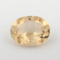 Золотистый берилл гелиодор формы овал, вес 2.05 карат, размер 10.2х8мм (beryl0149)