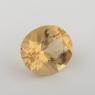 Золотистый берилл гелиодор формы овал, вес 1.96 карат, размер 9.1х7.9мм (beryl0152)