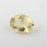 Золотистый берилл гелиодор формы овал, вес 1.1 карат, размер 8х6.1мм (beryl0154)