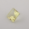 Золотистый берилл гелиодор формы квадрат, вес 0.92 карат, размер 6х6мм (beryl0156)