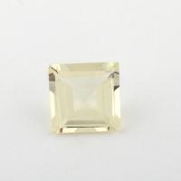 Золотистый берилл гелиодор формы квадрат, вес 0.77 карат, размер 6.1х6мм (beryl0157)