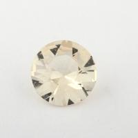 Золотистый берилл гелиодор формы круг, вес 1.16 карат, размер 8.7х7.3мм (beryl0169)