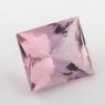 Розовый берилл морганит формы багет, вес 3.92 карат, размер 10.3х8.9мм (beryl0172)