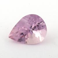 Розовый берилл морганит формы груша, вес 2.32 карат, размер 10.5х8мм (beryl0179)