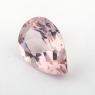 Бледно-розовый берилл морганит формы груша, вес 2.31 карат, размер 11.7х7.8мм (beryl0184)