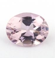 Бледно-розовый берилл морганит формы овал, вес 1.55 карат, размер 9х7.3мм (beryl0188)