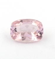 Бледно-розовый берилл морганит формы антик, вес 0.66 карат, размер 7х5мм (beryl0194)