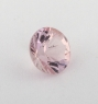 Бледно-розовый берилл морганит формы круг, вес 0.58 карат, размер 5.7х5.6мм (beryl0197)