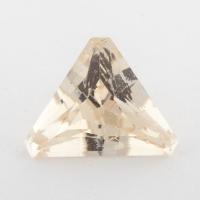 Золотистый берилл гелиодор формы треугольник, вес 5.85 карат, размер 15.8х12.1мм (beryl0202)