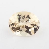 Золотистый берилл гелиодор формы овал, вес 3.7 карат, размер 11.8х9.5мм (beryl0204)
