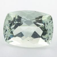 Светло-зеленый берилл формы антик, вес 18.52 карат, размер 18.5х14.1мм (beryl0222)