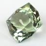 Желтовато-зеленый берилл отличной российской огранки формы антик, вес 21 карат, размер 17.2х17.1мм (beryl0243)