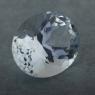Бесцветный берилл гошенит формы овал, вес 14.43 карат, размер 18.5х14.7мм (beryl0252)