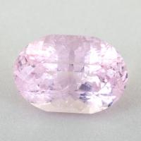 Розовый берилл морганит хорошей огранки формы овал, вес 6.77 карат, размер 14х9.6мм (beryl0262)