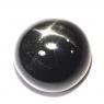 Звёздчатый диопсид (black star) круг вес 11.74 карат, размер 13.1х12.9мм (black0017)