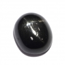 Звёздчатый диопсид (black star) овал вес 6.09 карат, размер 12.1х10.1мм (black0021)