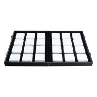 Кейс для камней с 24 коробочками 5х5см