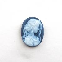 Камея на агате, размер 20х15мм  (cameo0074)