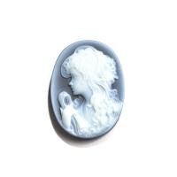 Камея на агате, размер 30х22мм (cameo0088)
