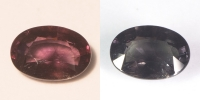 Гранат с александритовым эффектом овал вес 2.57 карат, размер 9.7х6.9мм (ccgarnet0009)