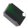 Хромдиопсид российской огранки октагон вес 11.49 карат, размер 15.8х10.4мм (chrom0035)