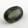 Желтовато-зеленый диопсид овал вес 2.13 карат, размер 10х7мм (chrom0060)