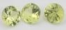 Комплект хризобериллов формы круг, общий вес 3.82 карат, размер 6.8х6.8мм (chrysob0065)