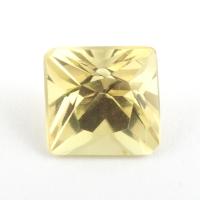 Хризоберилл формы квадрат, вес 0.79 карат, размер 5х4.9мм (chrysob0071)