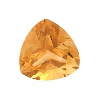 Цитрин триллион вес 39.12 карат, размер 23.4х23.4мм (citrin0069)