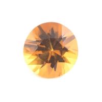 Ярко-жёлтый цитрин империал круг вес 1.63 карат, размер 8.3х8.3мм (citrin0102)