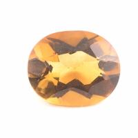 Ярко-жёлтый цитрин империал овал вес 2.3 карат, размер 10.2х8.2мм (citrin0104)