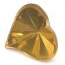 Цитрин сердце вес 6.85 карат, размер 15х14мм (citrin0112)