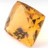 Цитрин формы антик, вес 9.73 карат, размер 13.8х12.2мм (citrin0117)