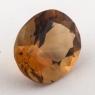Оранжево-желтый цитрин овал, вес 3.76 карат, размер 11.3х9.4мм (citrin0133)