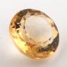 Бледно-желтый цитрин круг, вес 11.61 карат, размер 15.1х15мм (citrin0135)