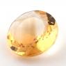 Бледно-желтый цитрин круг, вес 8.92 карат, размер 15.1х15мм (citrin0136)