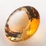 Оранжево-желтый цитрин круг, вес 13.48 карат, размер 16.4х16.3мм (citrin0141)