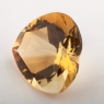 Цитрин формы сердце, вес 22.4 карат, размер 19.9х19.5мм (citrin0144)