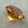 Цитрин отличной российской огранки формы октагон, вес 6.35 карат, размер 11.9х11.9мм (citrin0162)