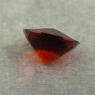 Темно-оранжевый цитрин отличной российской огранки формы антик, вес 1.47 карат, размер 8х8мм (citrin0163)