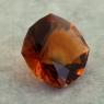 Темно-оранжевый цитрин отличной российской огранки формы антик, вес 2.46 карат, размер 9х8.8мм (citrin0164)