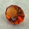 Темно-оранжевый цитрин отличной российской огранки формы овал, вес 2.47 карат, размер 10.5х7.9мм (citrin0165)