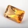 Цитрин формы октагон, вес 15.3 карат, размер 19х11.8мм (citrine0176)