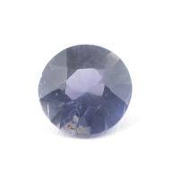 Иолит формы круг, вес 0.96 карат, размер 7.1х7мм (cord0044)