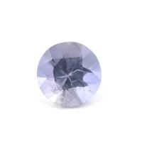 Иолит формы круг, вес 0.72 карат, размер 6.2х6.1мм (cord0046)