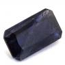Иолит формы октагон, вес 4.19 карат, размер 13.4х7.8мм (cord0068)
