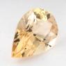Данбурит формы груша, вес 2.86 карат, размер 12.3х8.3мм (danburit0021)